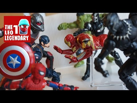 Civil War Part II: Divided They Fall - Stop-Motion Film
