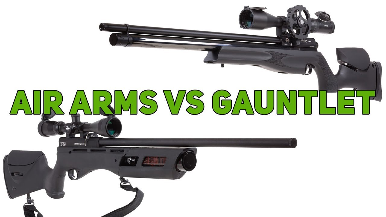 Umarex Gauntlet VS Air Arms S510 XS Ultimate Sporter - Which Rifle Will  WIN?!