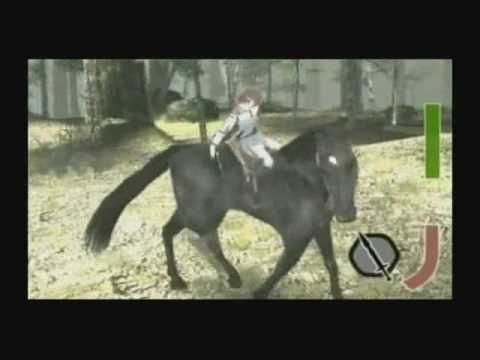 Shadow Of The Colossus VERY early development video