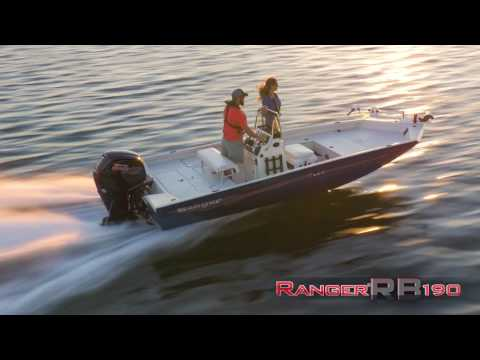 Ranger Aluminum RB190 On Water Footage