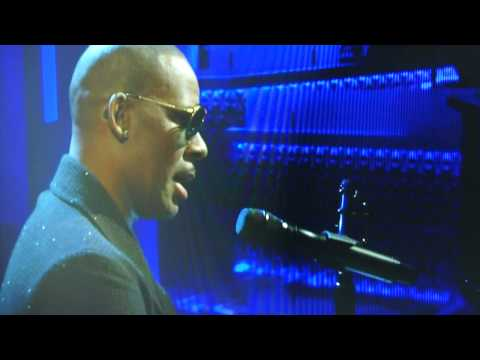 R Kelly at The Arsenio Hall (Nelson Mandela Song) RIP Great One PIX 11