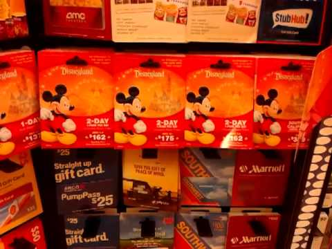 Disneyland Annual Gift Card no longer available at Ralphs ...
