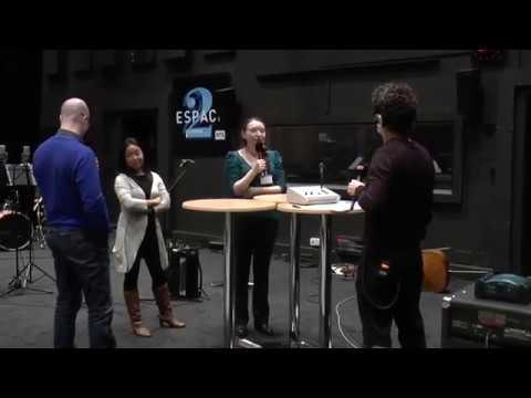 Radio RTS émission Magma : lauréate de la bourse Colette Mosetti 2015-2016 , Marie Bochelen