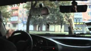 Выезд из жилой зоны (уроки вождения)