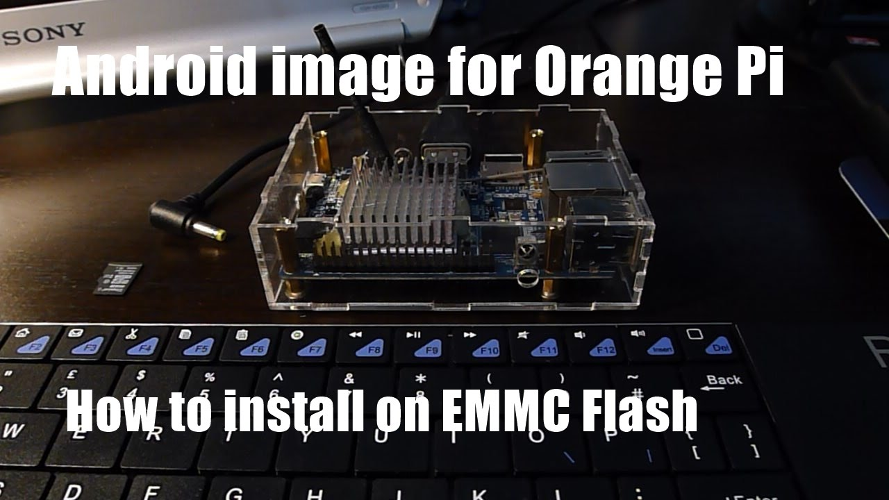 The best ANDROID with KODI for Orange Pi PLUS install on EMMC Flash