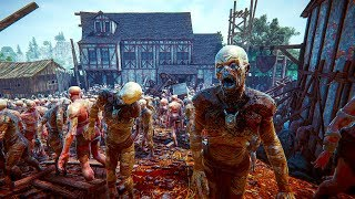 THE BLACK MASSES - Official Trailer (New Open World Zombie Game 2018)