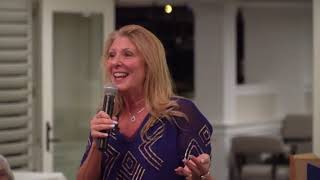 Genevieve Piturro Founder of Pajama Program   Speaking Nov 1 2018 at Venice Yacht Club FL
