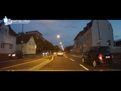 ROAD TRIP: driving in and around Frankfurt am Main / Germany / September 2016