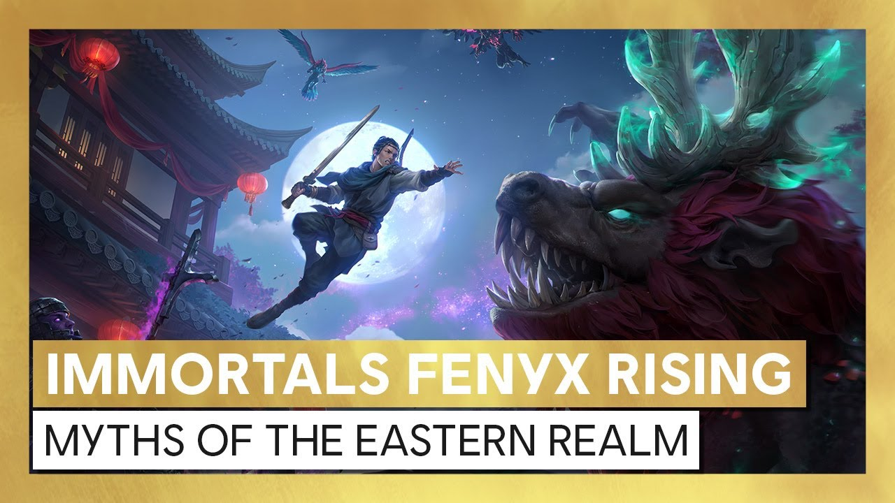 Immortals Fenyx Rising: Myths of the Eastern Realm – Launch trailer