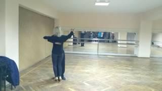 Мастер класс по танго для новичков. Работа в паре