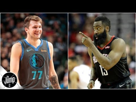 Luka Doncic reacts to joining LeBron James in elite NBA club