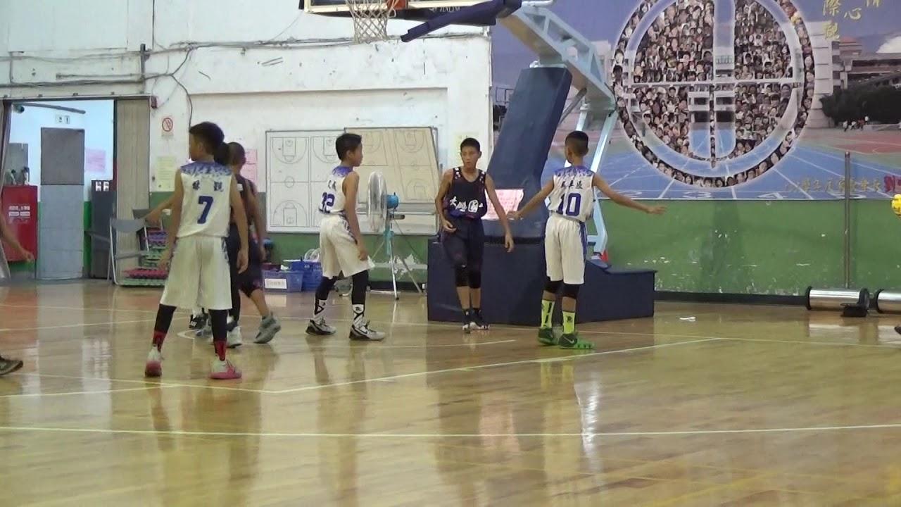 2019全國少年籃球錦標賽-大鵬VS士林(2/8) - YouTube