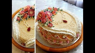 УКРАШЕНИЕ ТОРТОВ, Торт 'АНЖЕЛИКА' от SWEET BEAUTY СЛАДКАЯ КРАСОТА , Angelica Cake Decoration