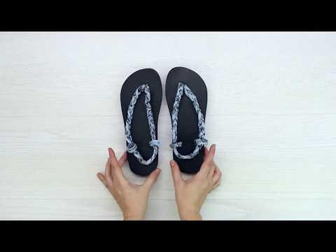 how to make flip flops into slippers/diy flip flops thumbnail