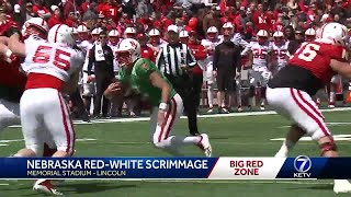 Nebraska Red comes out on top of Nebraska White in Spring Game