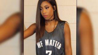 woman not permitted to sing national anthem at nba game over we matter jersey