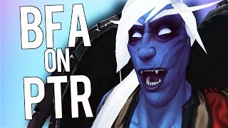 BFA How To Test New Class Changes On PTR! - World of Warcraft: Battle For Azeroth (BETA)