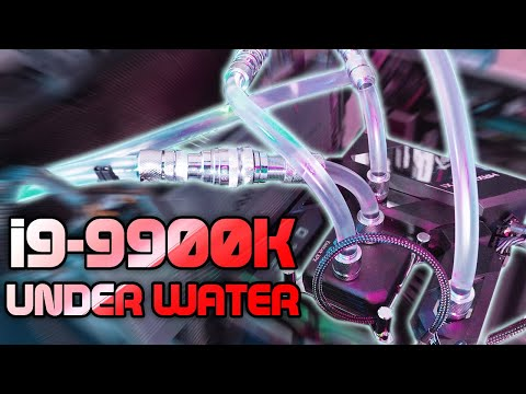 The i9 9900k Gets Overclocked & Wet!!! - YouTube
