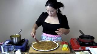 Pizza Recipe : Japanese Curry Pizza With Fried Shrimp Recipe : Asian At Home