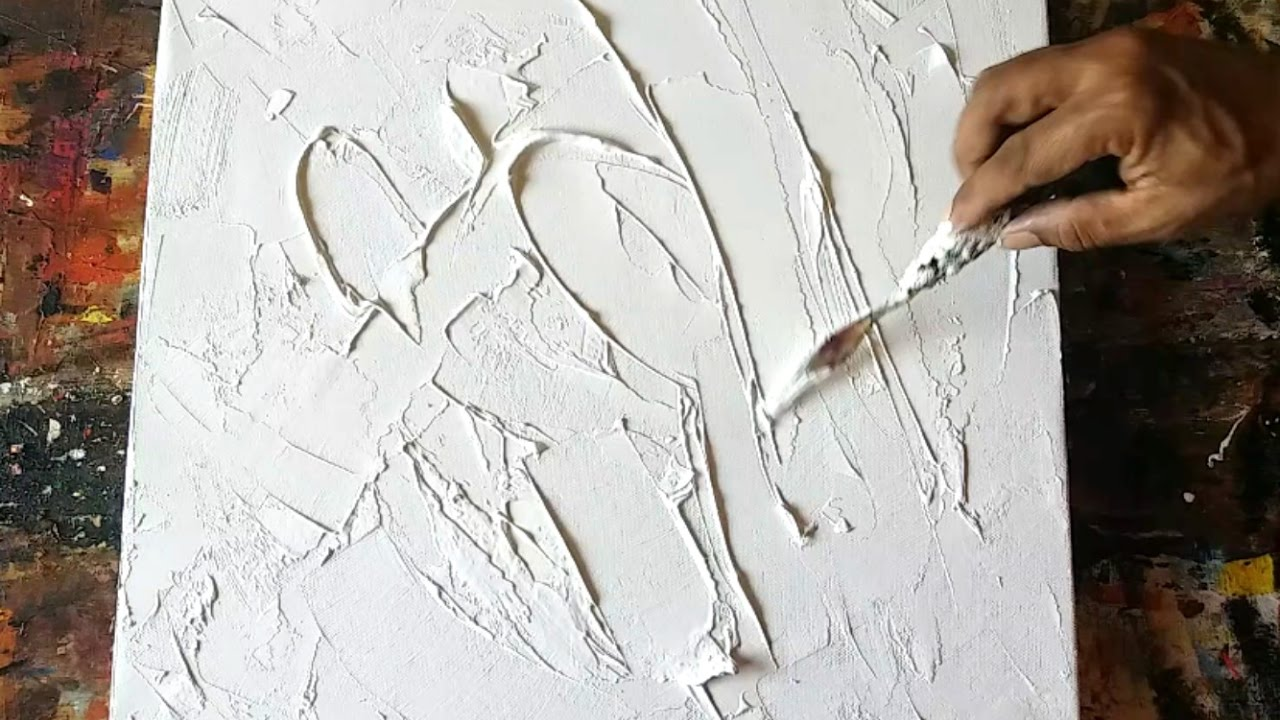 Texture #abstract #how to gesso canvas #texturing # ...
