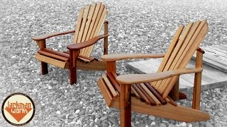 Adirondack Chair Pair Build - Jackman Works