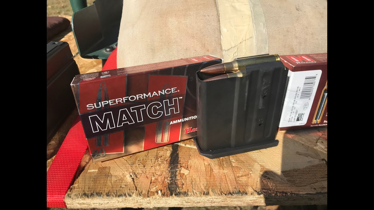 308 Winchester, 178gr BHTP, Hornady Superformance Match