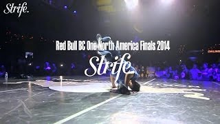 Victor vs Jayd illa | Red Bull BC ONE North America 2014 | Strife.TV