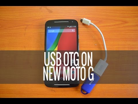 USB OTG on New Moto G (2nd Gen)