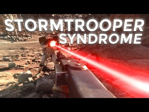 The Stormtroopers in games are just like the Stormtroopers in the movies
