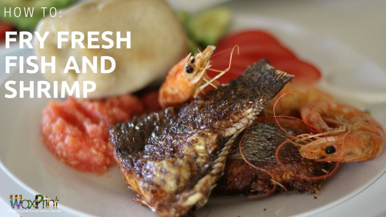 How to fry a red fish To make it juicy
