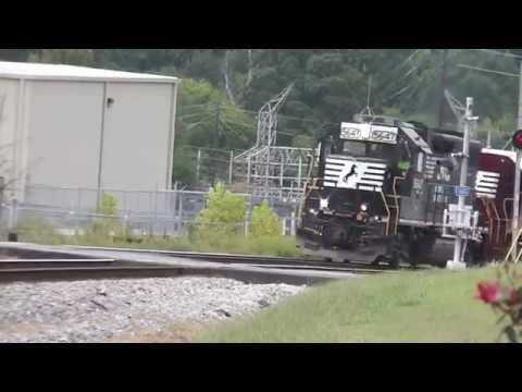 "NORFOLK SOUTHERN TRAIN NS 903 GEOMETRY TRAIN ""MY FRIEND CASEY""AUSTELL,GA.9-22-2015"