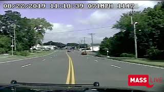 Dashcam video of police pursuit that ended in double-fatal crash at Massachusetts state line