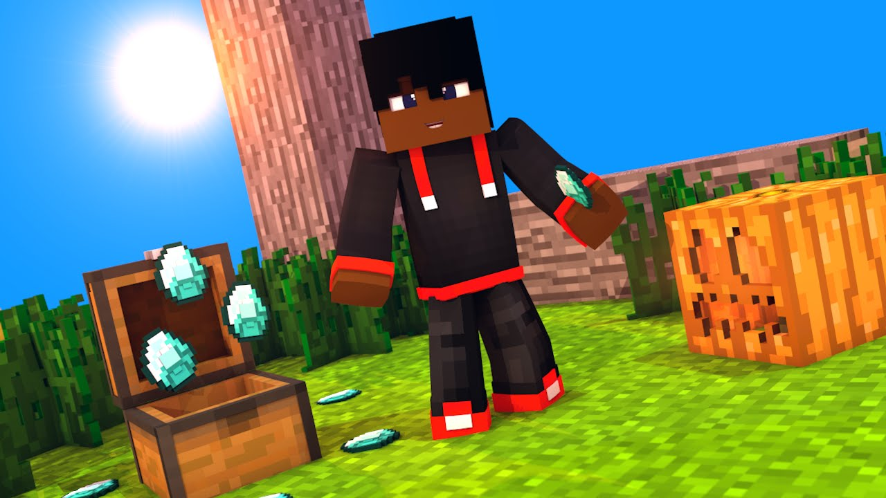 Wallpaper para lucky br nova skin dele youtube - Minecraft nova wallpaper ...