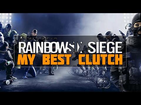 MON PLUS BEAU CLUTCH ! - Rainbow Six Siege
