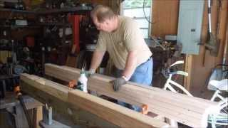 The First New Workbench Part 1 - Design - A Video Tutorial From Old Sneelock's Workshop