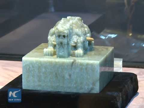 Rare Chinese jade seal sold for 4,450,000 USD