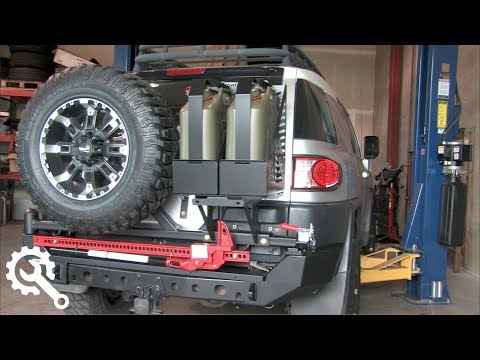Installing Metal Tech FJ Cruiser Red Eye Bumper