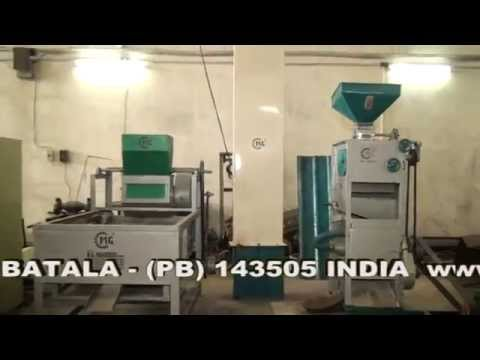 M G ONE PASS RICE MILL MACHINE