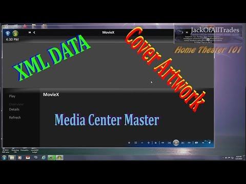Pulling XML Data Into Media Browser For MovieX Using Media Center Master