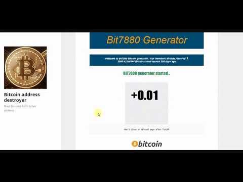 generator de bitcoin strategii de opțiuni binare în tnkorswm
