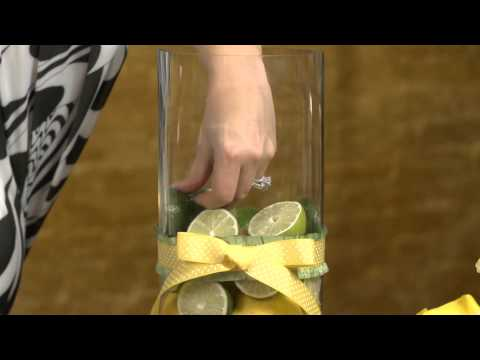 How to Create a Centerpiece With Lemons & Limes : Event Flowers & Centerpieces