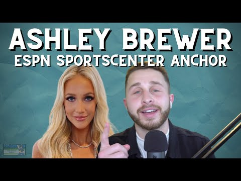 Espn Sportscenter Anchor Ashley Brewer End Of The Bench Youtube