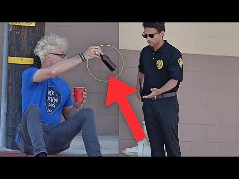 ANGRY SECURITY GUARD Pranked By Magician (BAD IDEA!!!)