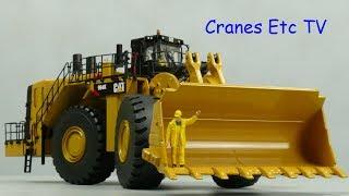 Diecast Masters Caterpillar 994K Wheel Loader by Cranes Etc TV