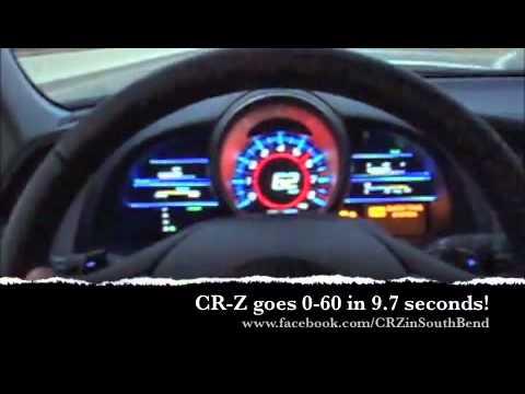 CR-Z 0-60 - YouTube