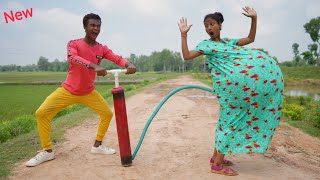Must Watch New Funny Video 2021 Top New Comedy Video 2021 Try To Not Laugh Episode 202 By@MY FAMILY