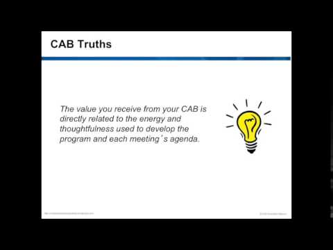 Customer Advisory Board truths