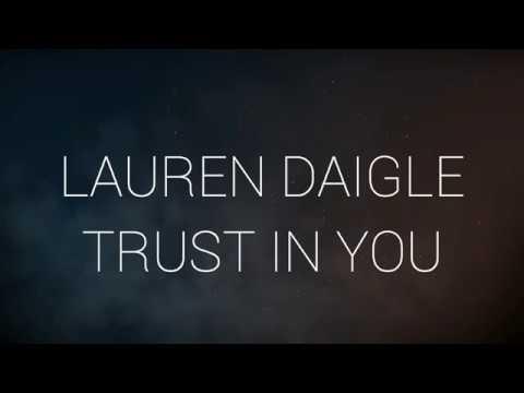 Lauren Daigle - Trust In You (Instrumental with Lyrics)