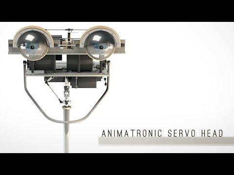 Animatronic Servo Head [CGI-Model]