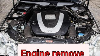Mercedes M272 & M273 remove engine